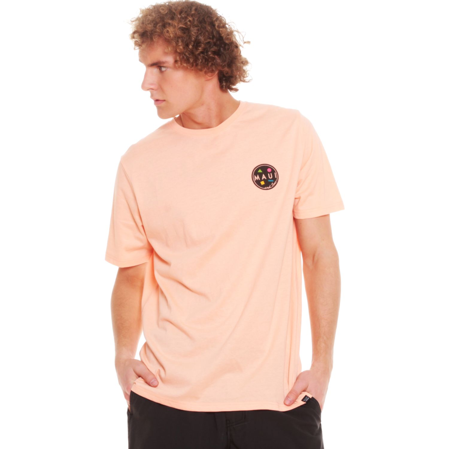 MAUI AND SONS Polera Mc 5p180-Mv20 Naranja Polos