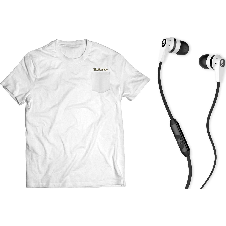 Skullcandy Ink'D Cable+polo Pocket Blanco Polos