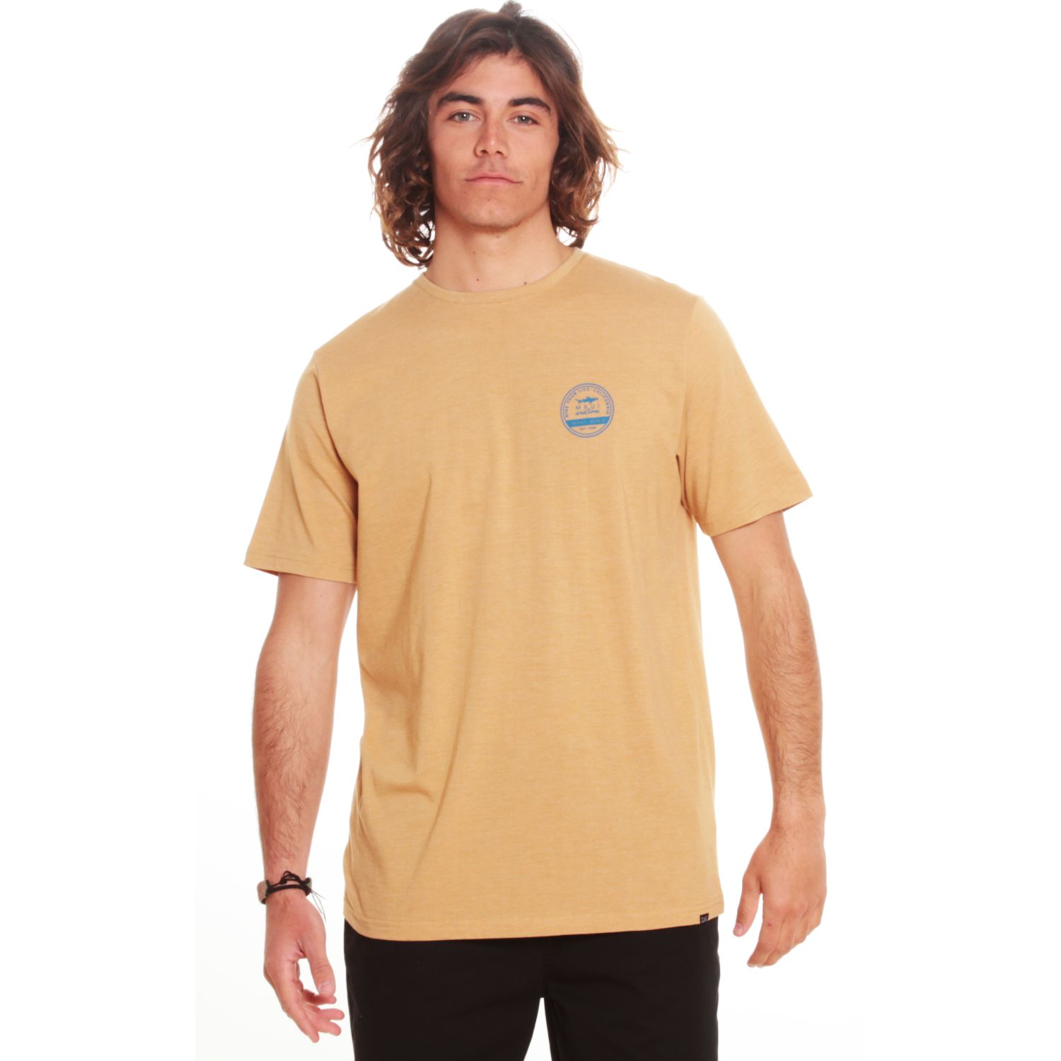 MAUI AND SONS Polera Mc 5p161-Mv20 Amarillo Polos