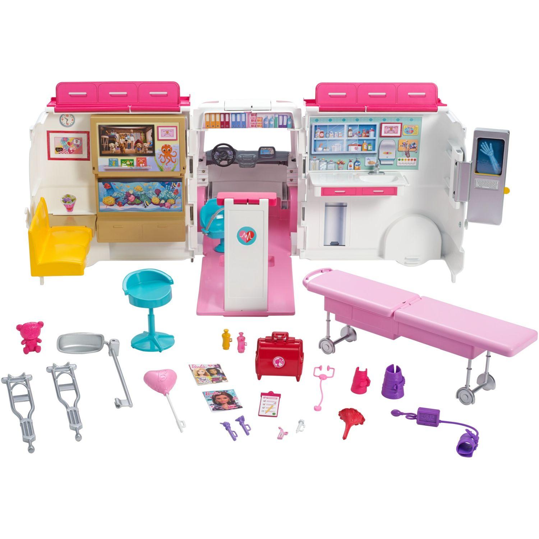 Barbie BARBIE HOSPITAL MÓVIL Varios sets de juegos