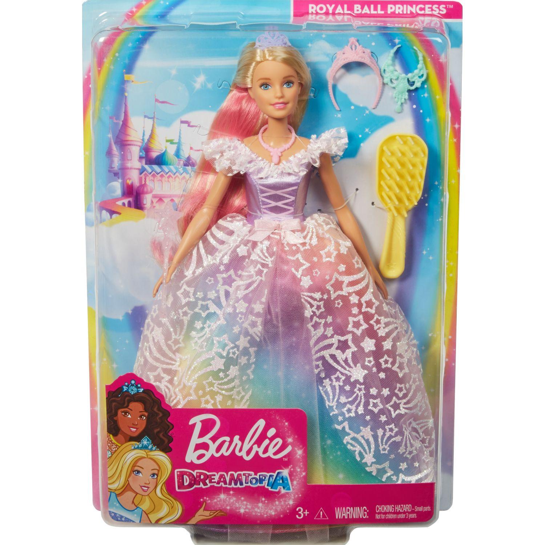 Barbie barbie princesa vestido Varios muñecas