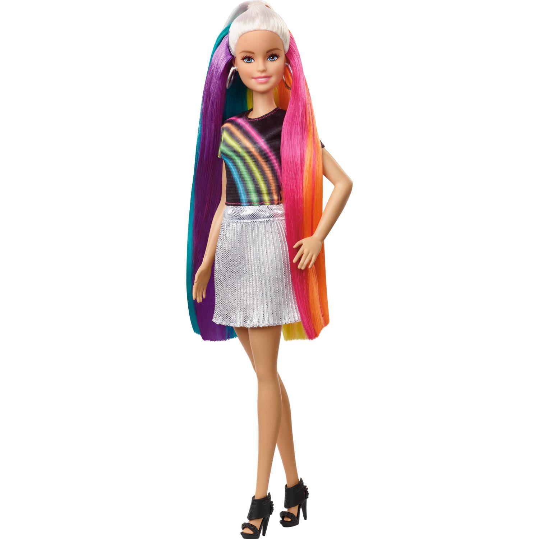 Barbie BARBIE PEINADOS DE ARCOIRIS Varios muñecas