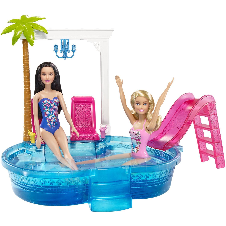 Barbie barbie piscina glam Varios sets de juegos