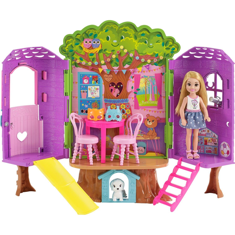 Barbie barbie chelsea casa del Árbol Varios casas de muñecas