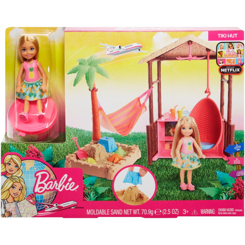 Barbie Explora Descubre Cabaña De Playa Varios Sets de juego