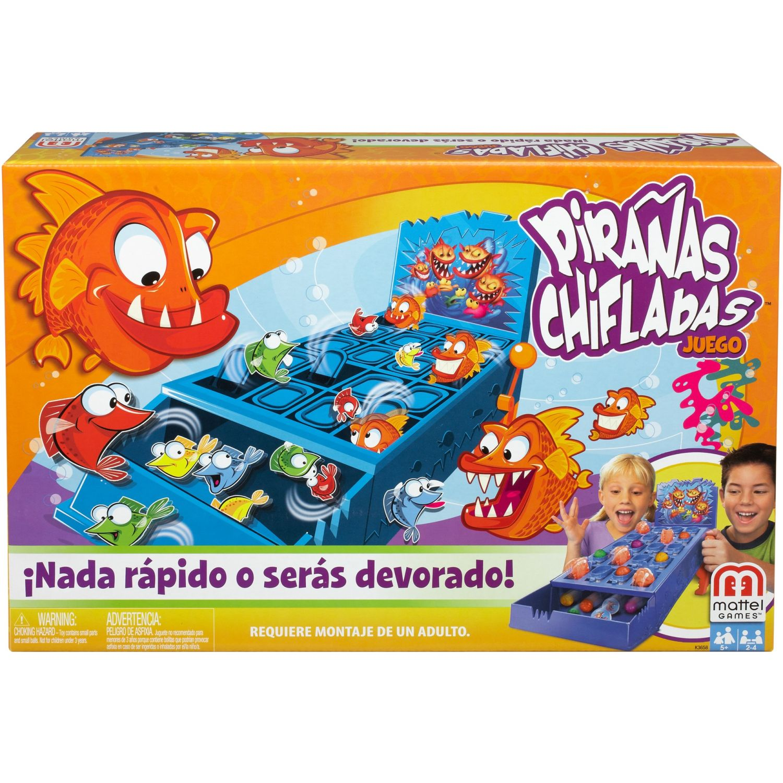 MATTEL GAMES PIRAÑAS CHIFLADAS Varios Juegos de mesa