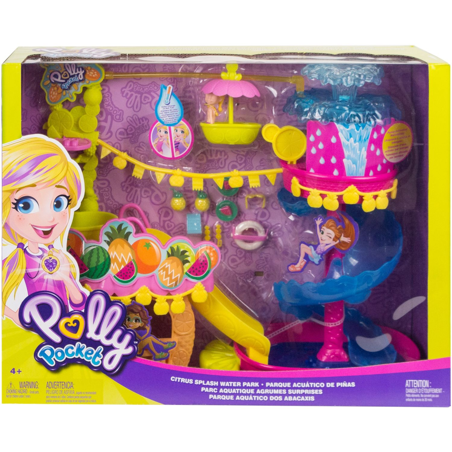 POLLY POCKET Polly Pocket Parque Acuático De Piñas Varios Sets de juego