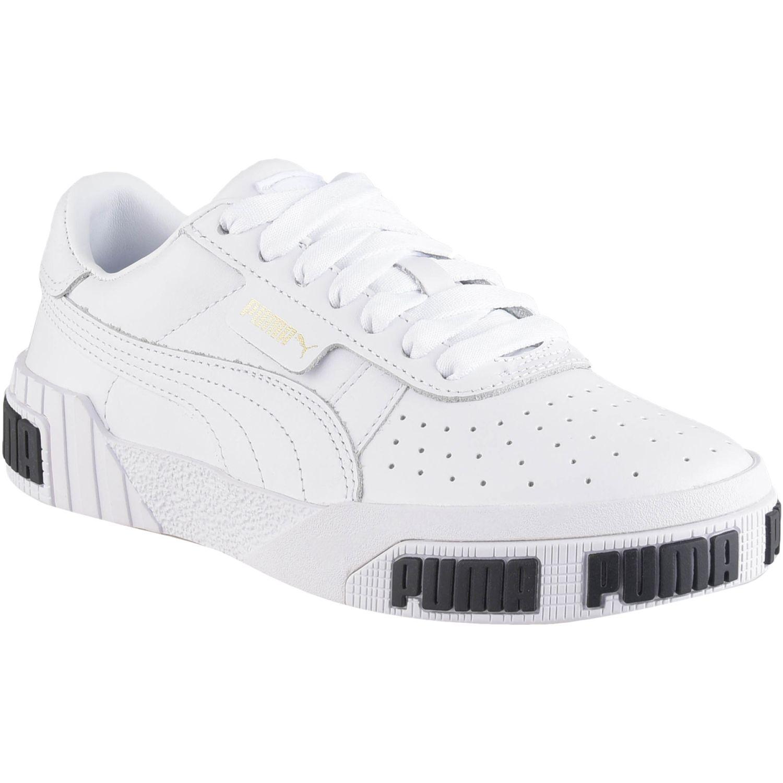 Puma Cali Bold Wn's Blanco / negro Walking | platanitos.com
