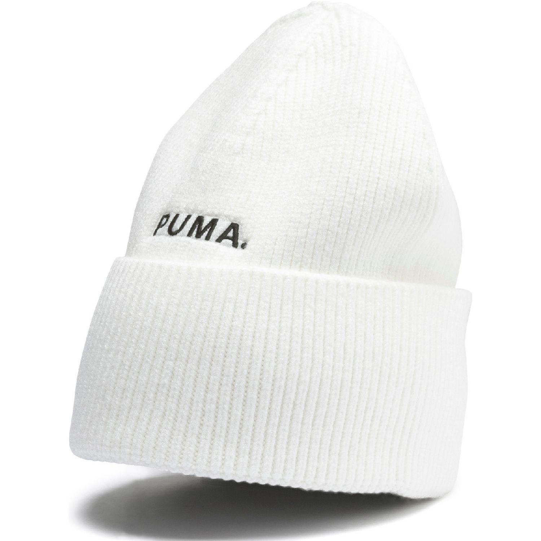 Puma hybrid fit trend beanie Blanco / negro Chullos y Gorros