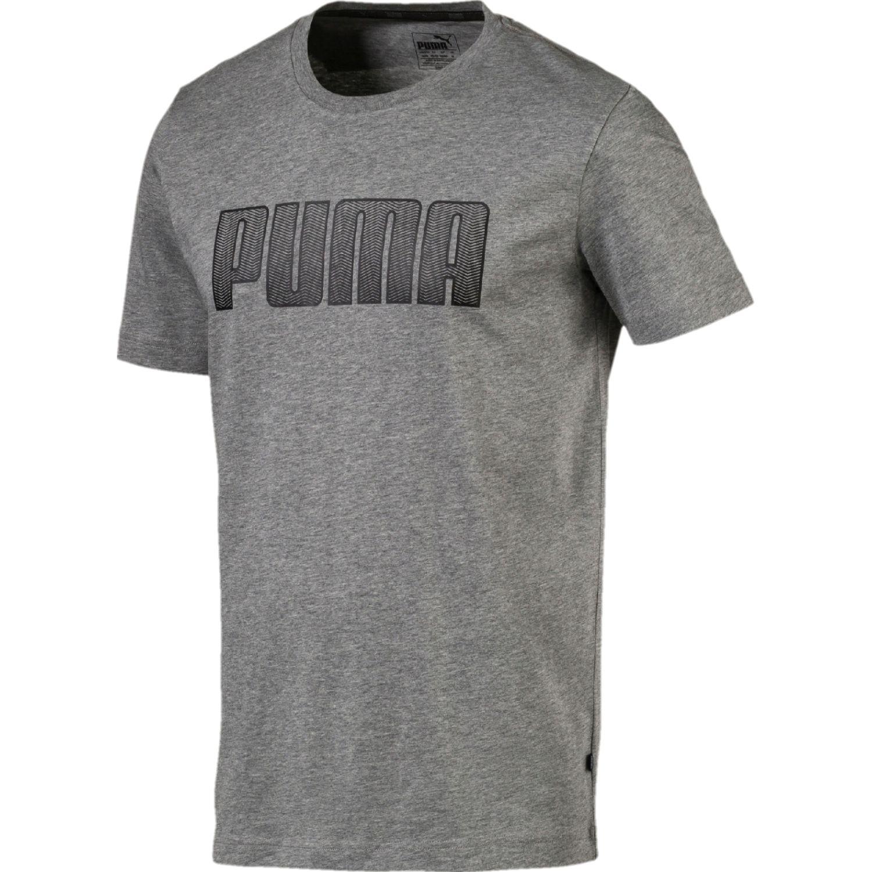Puma ka tee Plomo Camisetas y Polos Deportivos