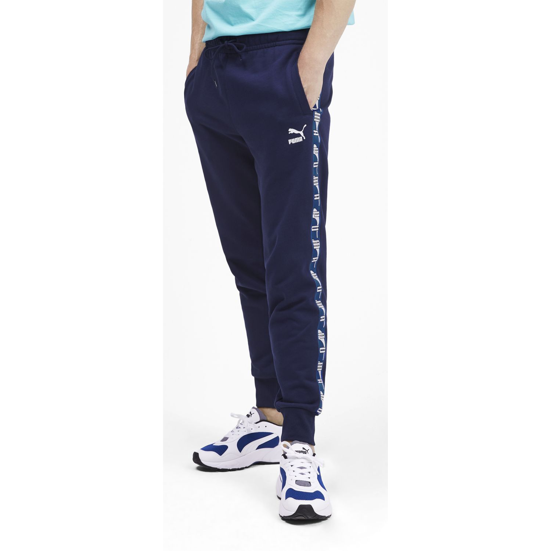 Puma Puma Xtg Sweat Pant Cuff Azul / blanco Pantalones deportivos