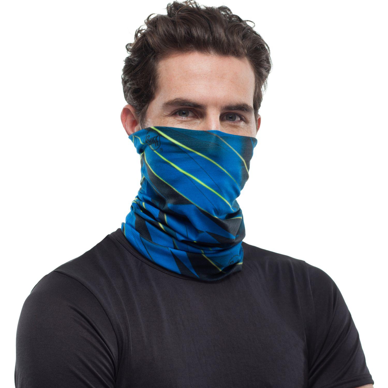 BUFF COOLNET UV+ FOCUS BLUE Azul Gaiters de Cuello o Calienta Cuellos