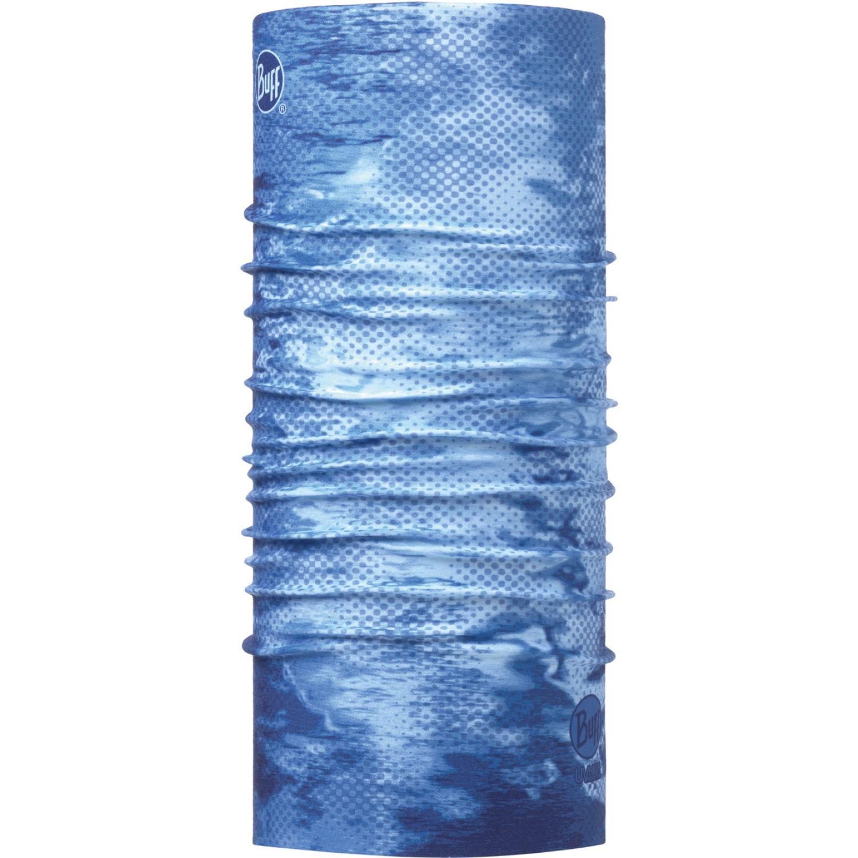 BUFF coolnet uv+ pelagic camo blue Azul Gaiters de Cuello o Calienta Cuellos