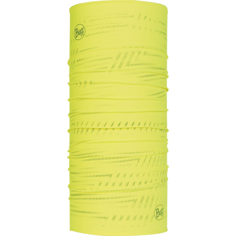 BUFF COOLNET UV+ REFLECTIVE R-YELLOW FLUOR Amarillo Gaiters de Cuello o Calienta Cuellos
