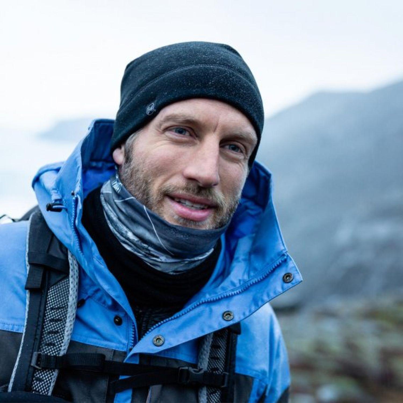 BUFF mountain collection polar m-blank blue Navy Gaiters de Cuello o Calienta Cuellos