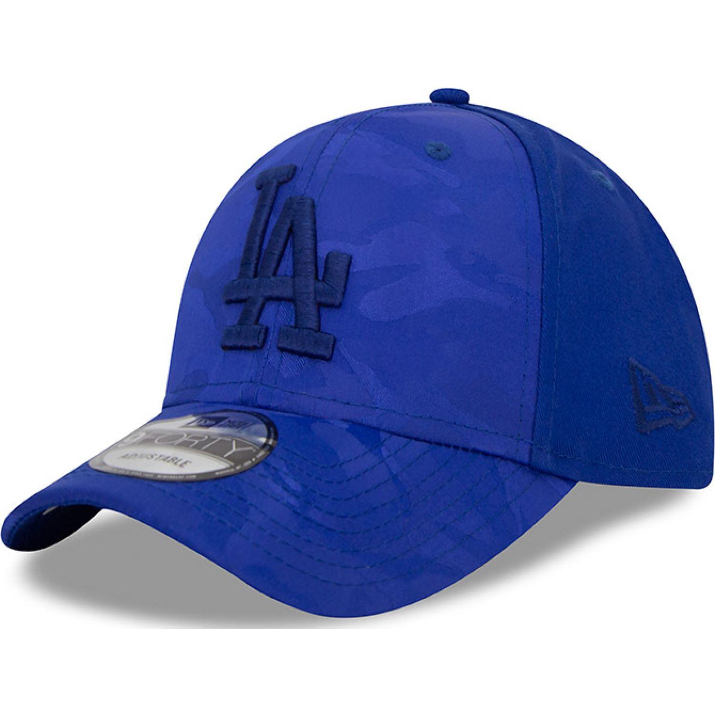 NEW ERA 940 monotone col losdod blue Azul Chullos y Gorros