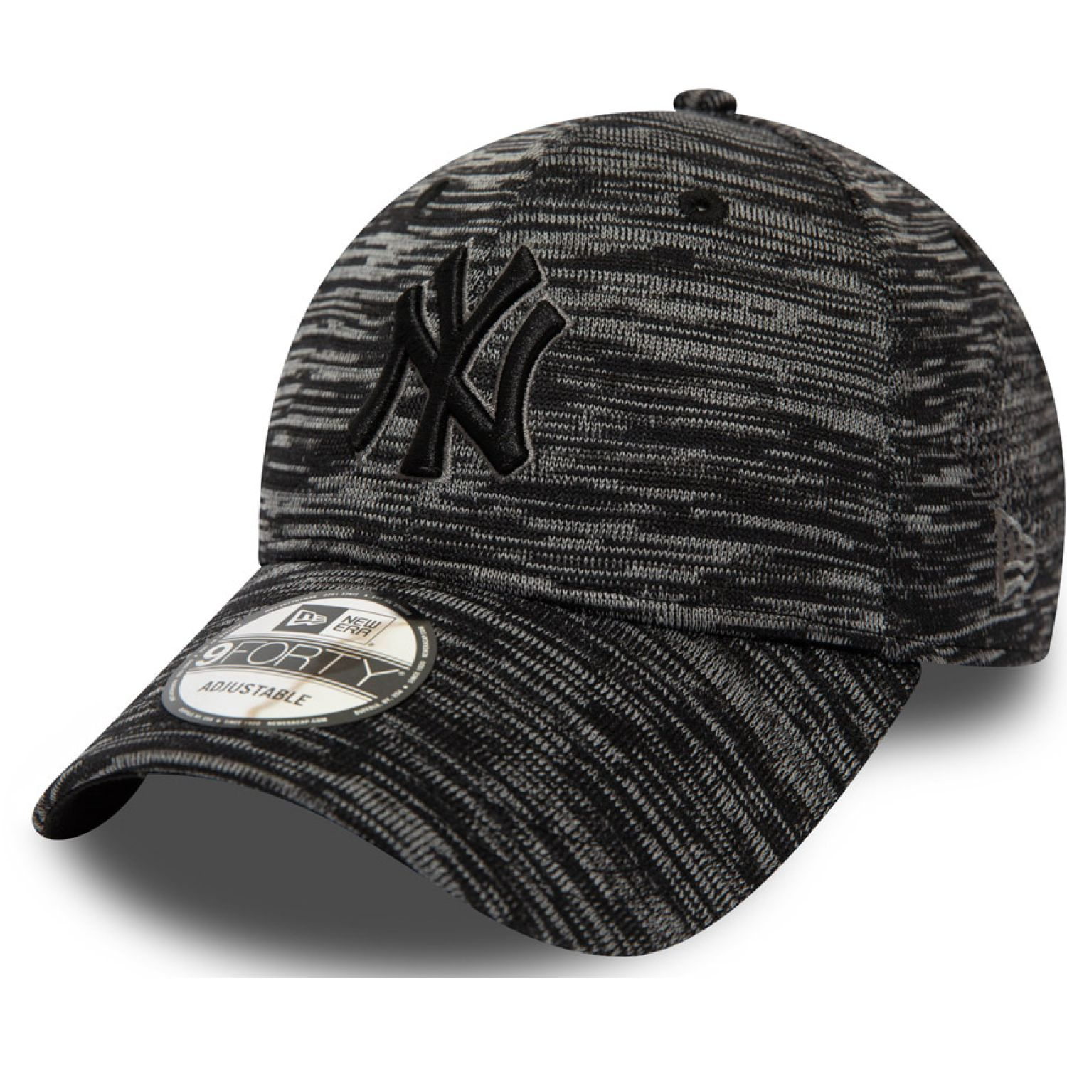 NEW ERA engineered fit 9forty neyyan blk Negro Chullos y Gorros