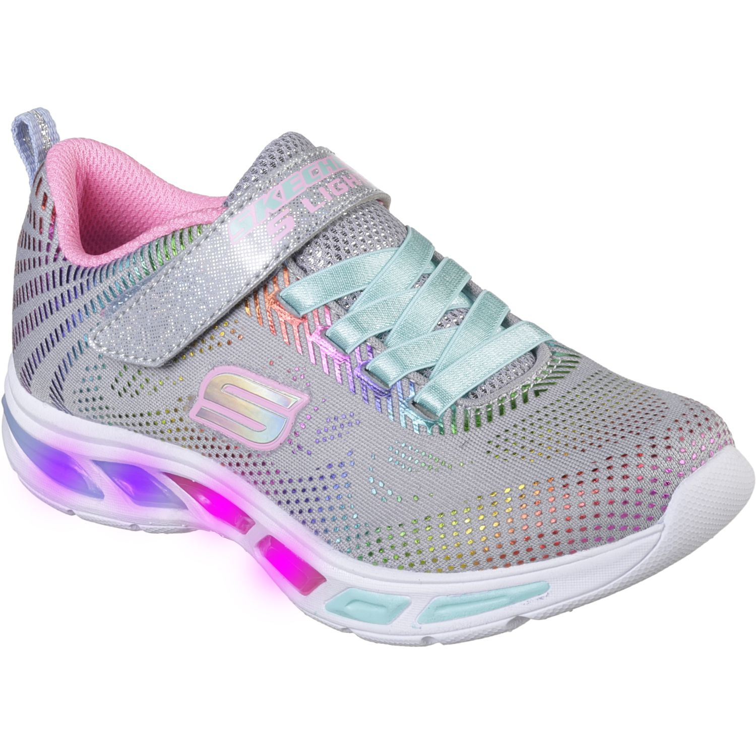 Skechers litebeams - gleam n' dream Gris Walking