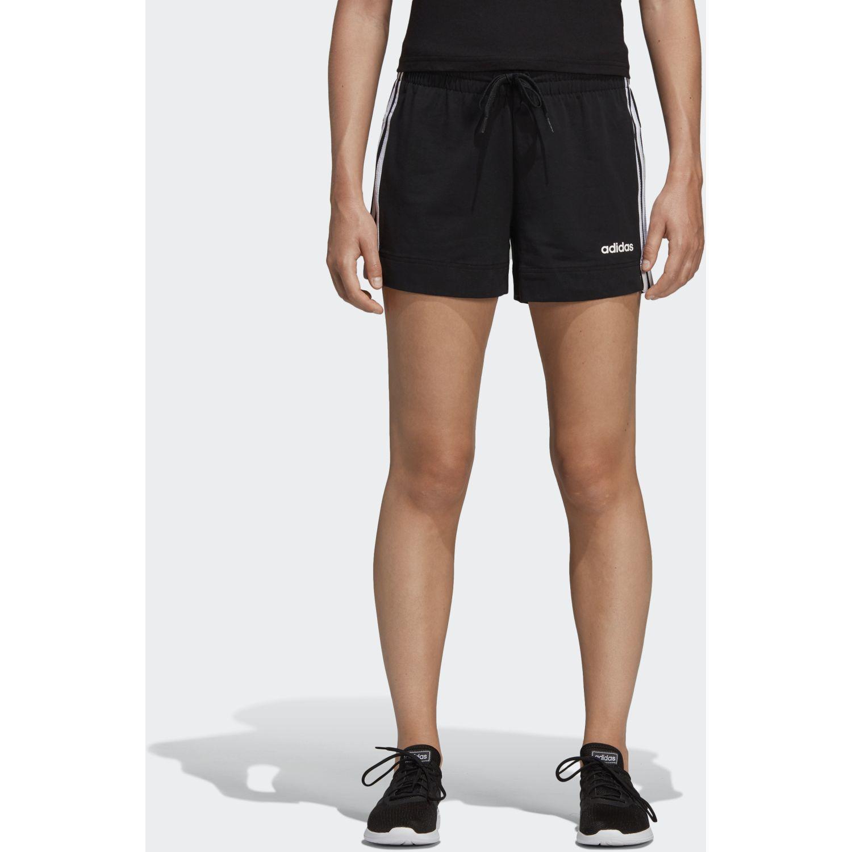 Adidas w e 3s short Negro / blanco Shorts Deportivos