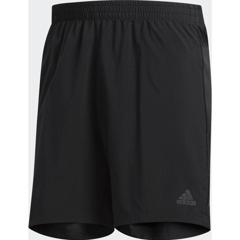 Adidas run it short m Negro Shorts Deportivos