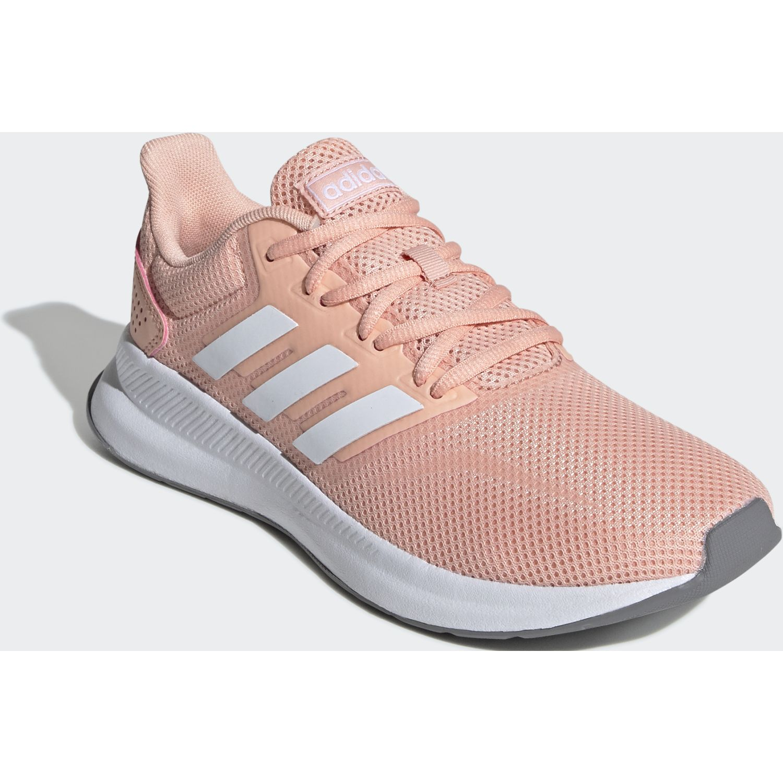 Adidas runfalcon ROSA / BLANCO Running en pista