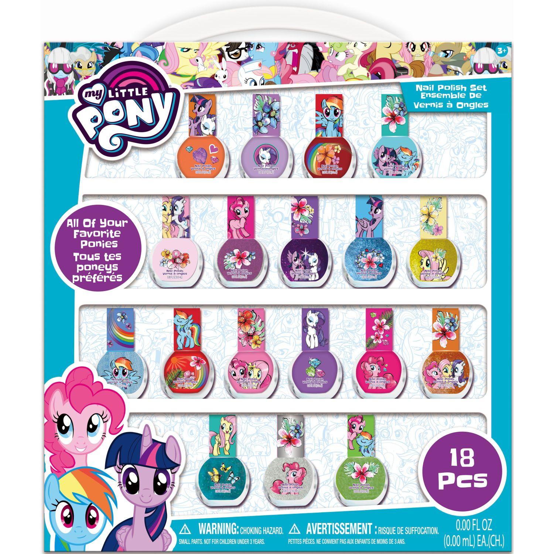 My Little Pony Pack X18- Esmalte De Uñas Varios Maquillaje