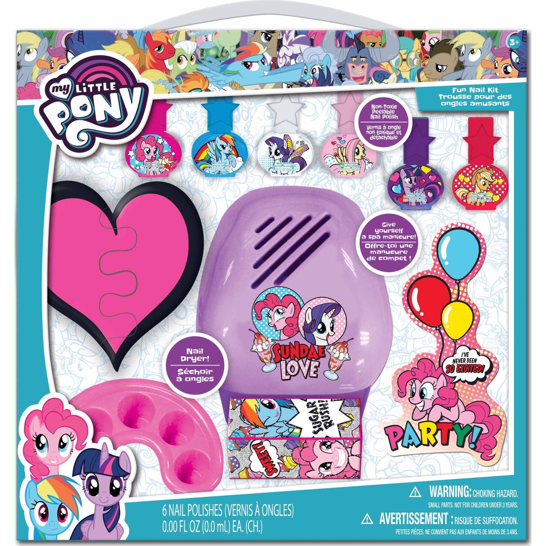 My Little Pony Juego De Uñas Spa-My Little Pony Varios Esmalte