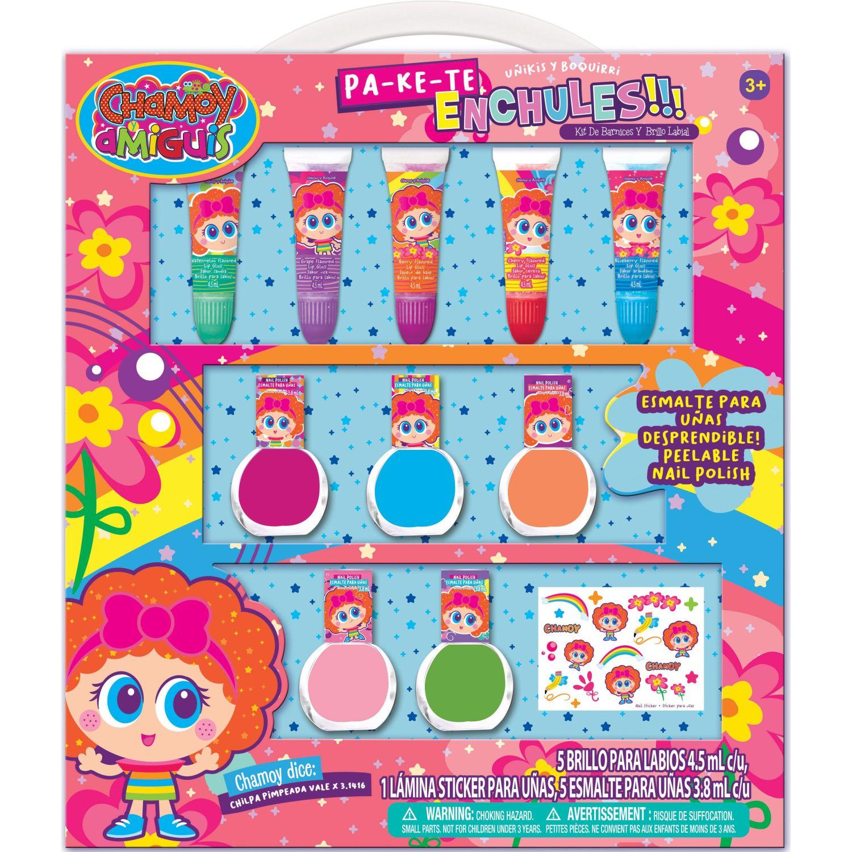 DISTROLLER pack x5- esmalte con brillo de labios Varios Esmalte de uñas