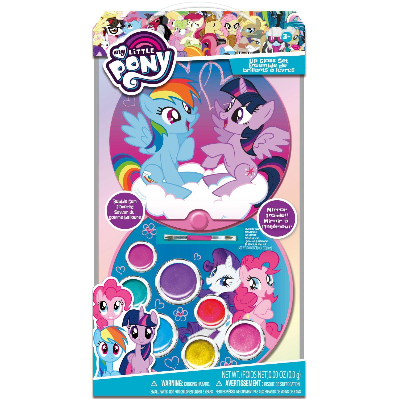 My Little Pony Brillo labial compacto- My little pony Varios brillos de labios