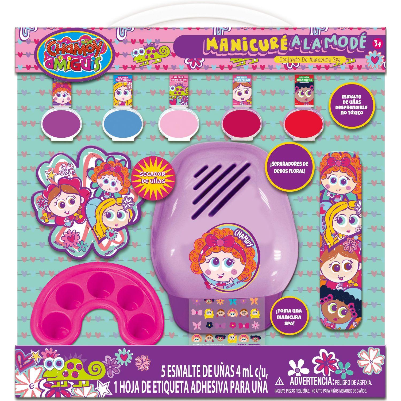 DISTROLLER pack x5- esmalte de uñas con secador Varios Esmalte de uñas