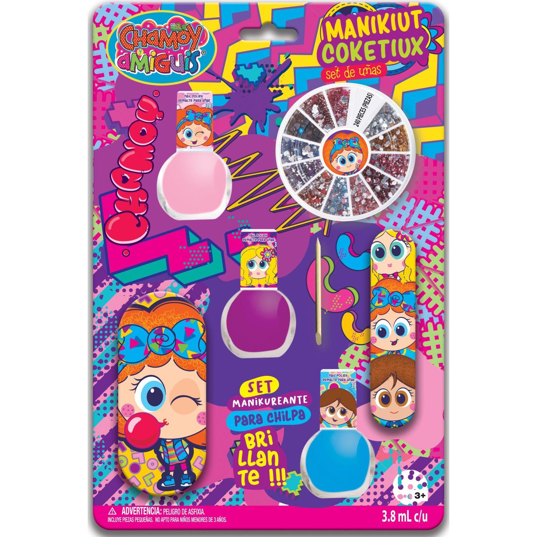 DISTROLLER Set De Uñas Distroller Mas Sticker Varios Maquillaje