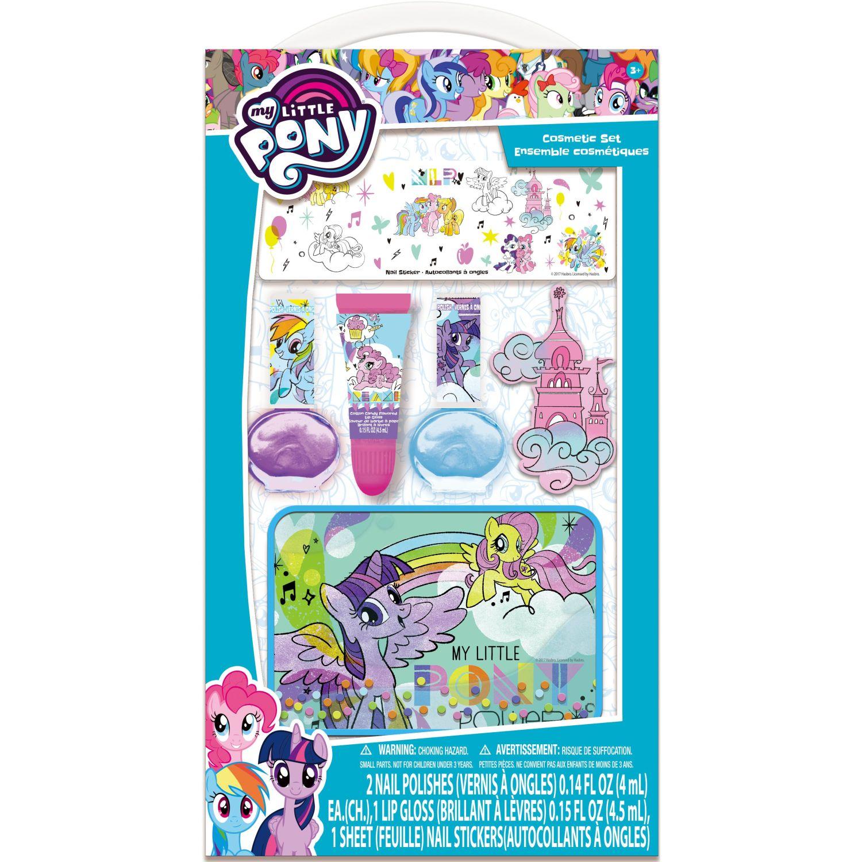 My Little Pony beso pintado con sticker y estuche Varios Kits de decoración