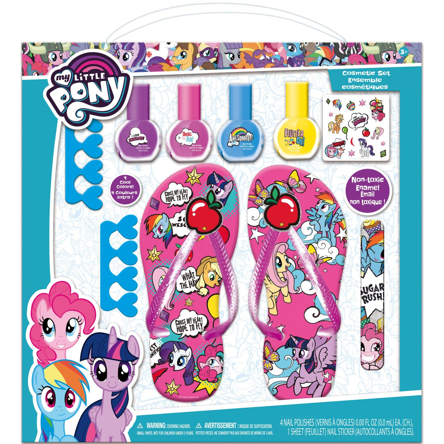 My Little Pony kit spa de belleza- my little pony Varios Kits de decoración