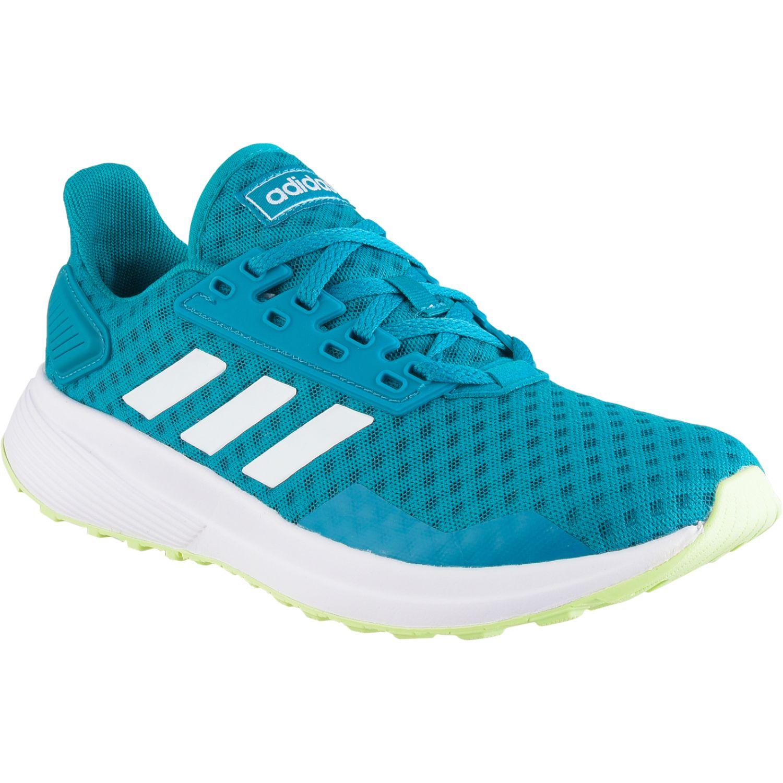 Adidas DURAMO 9 Turquesa Running en pista