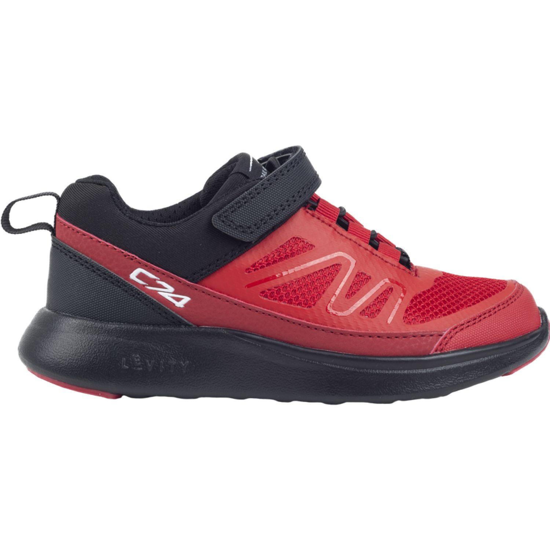 Colloky Zapatilla Fused Velcro Elástico Rojo Zapatillas