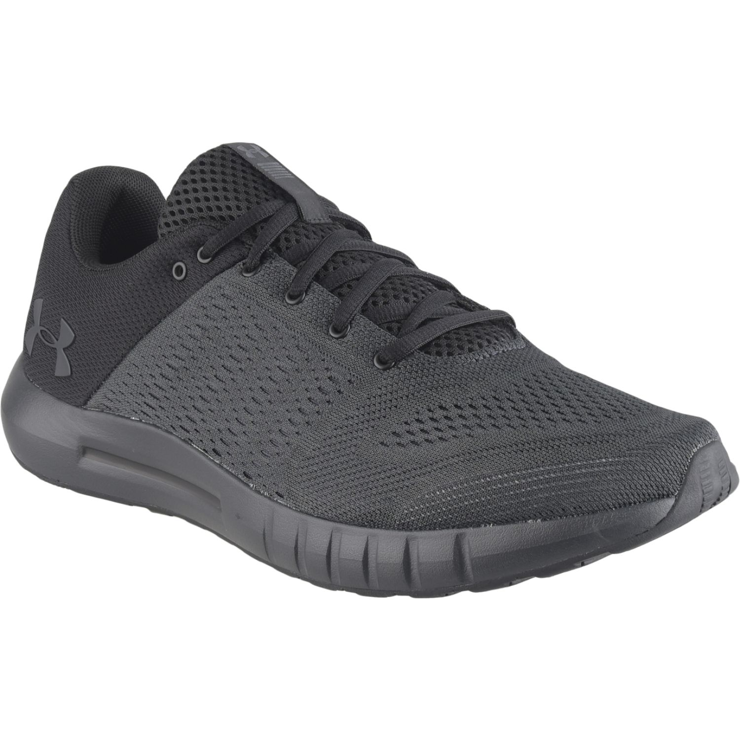 Under Armour Ua Micro G Pursuit Plomo / negro Correr por carretera