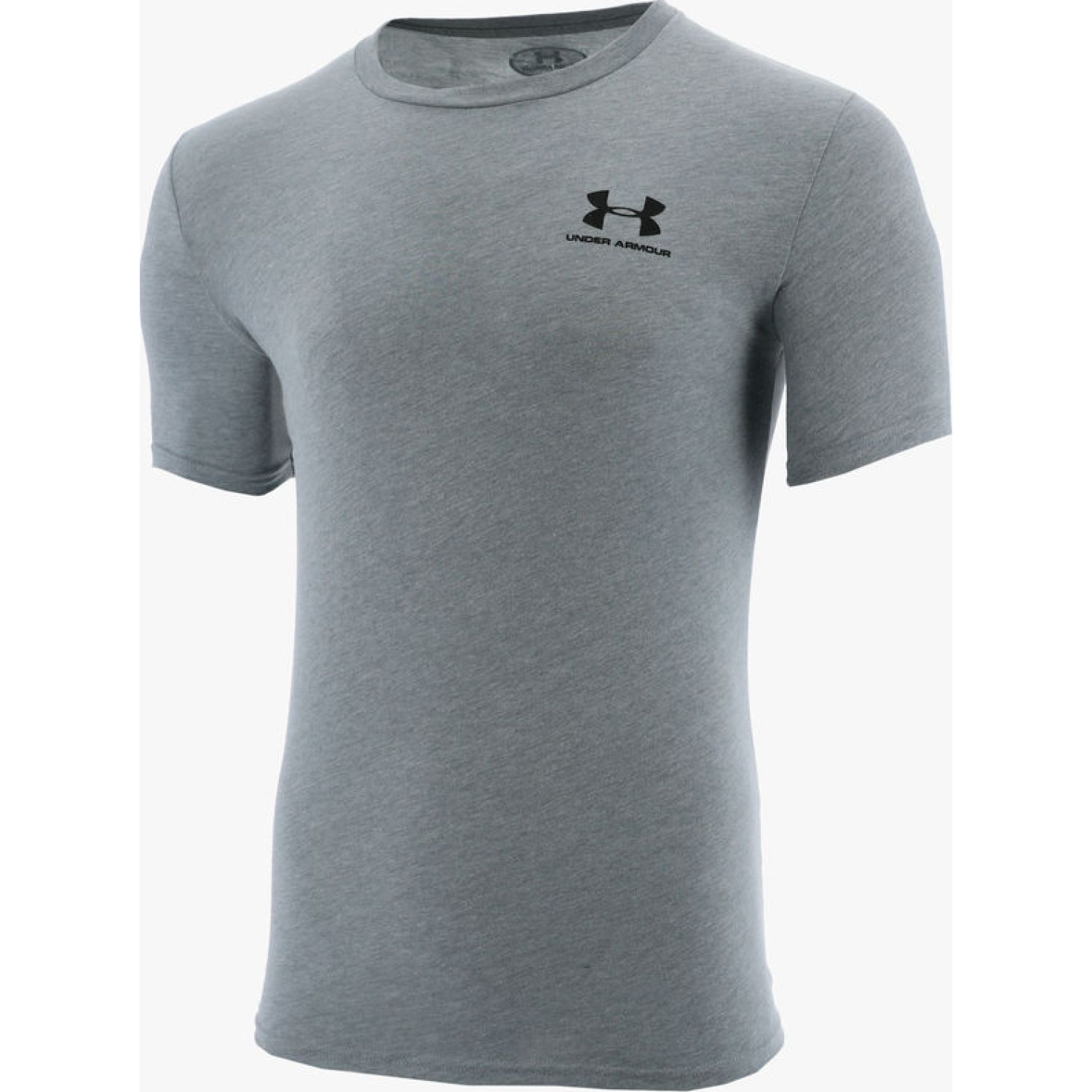 Under Armour Sportstyle Left Chest Ss Gris Camisetas y polos deportivos