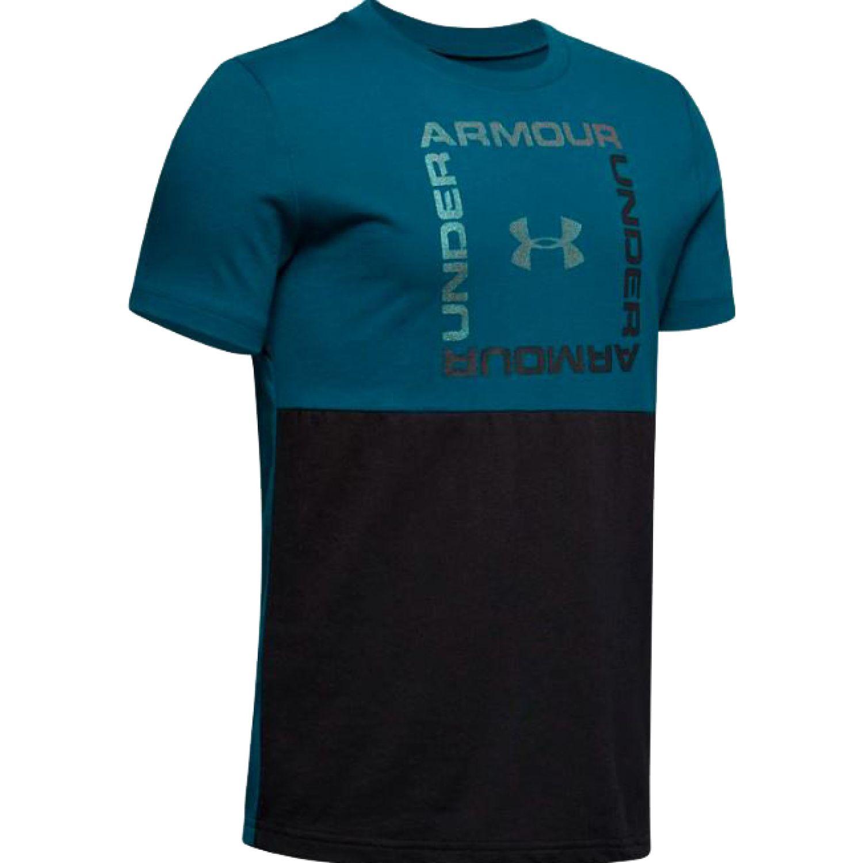 Under Armour sportstyle short sleeve Turquesa / negro Camisetas y Polos Deportivos