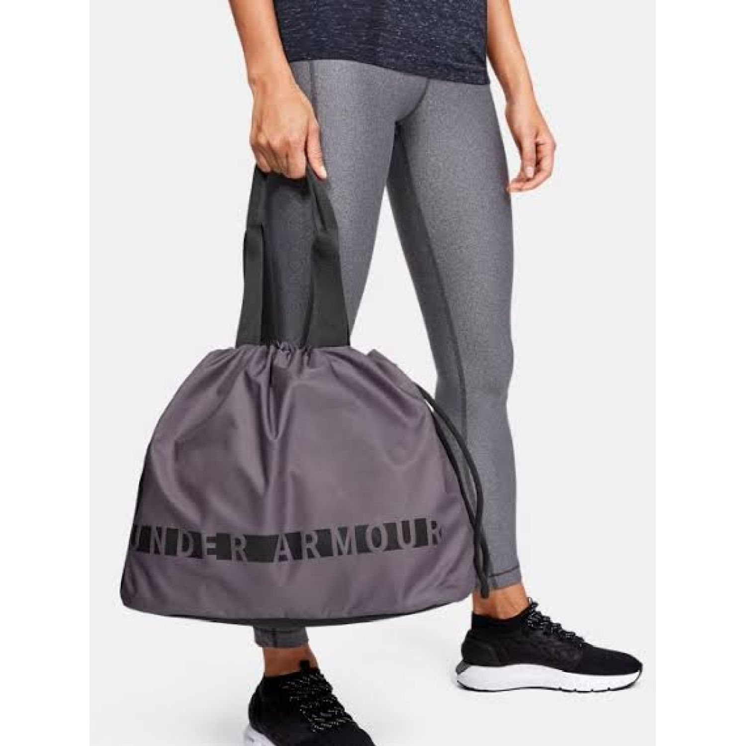 Under Armour UA Favorite Tote Plomo / negro bolsos de lazo