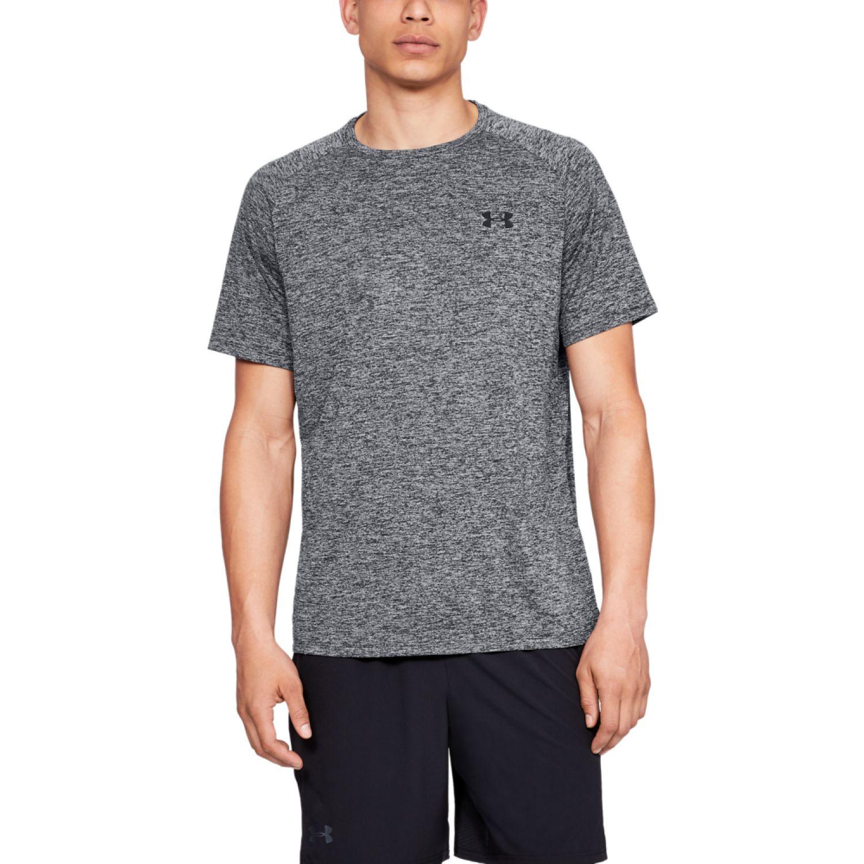 Under Armour Ua Tech Ss Tee Gris Camisetas y polos deportivos