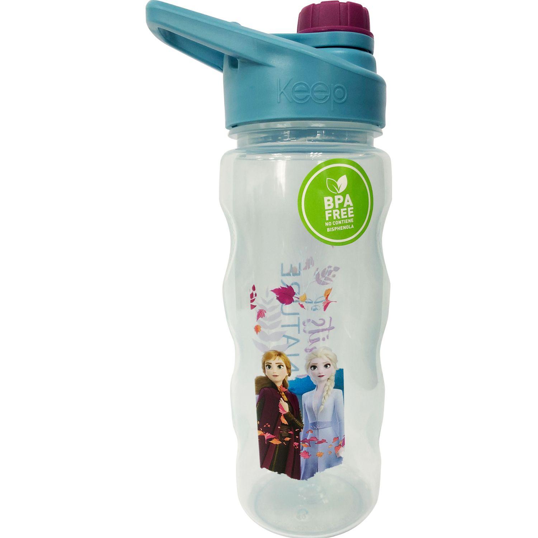 Frozen Botella Tapa Rosca 1 560 ML Frozen 2 Celeste / rosado Botellas de Agua