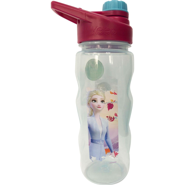 Frozen Botella Tapa Rosca 2 560 Ml Frozen 2 Rosado / celeste Botellas de Agua