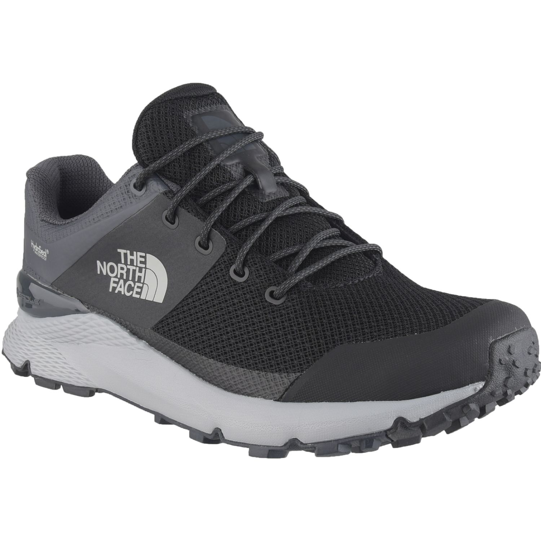 The North Face M Vals Wp Negro / blanco Zapatos de senderismo