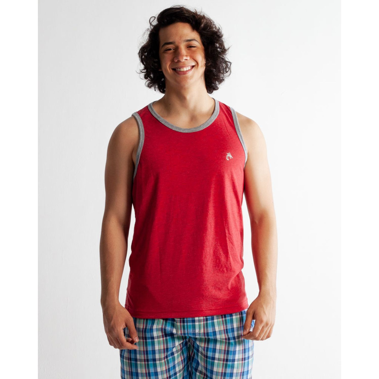 Rising Dragon Bvd Con Collareta Rojo Camisetas