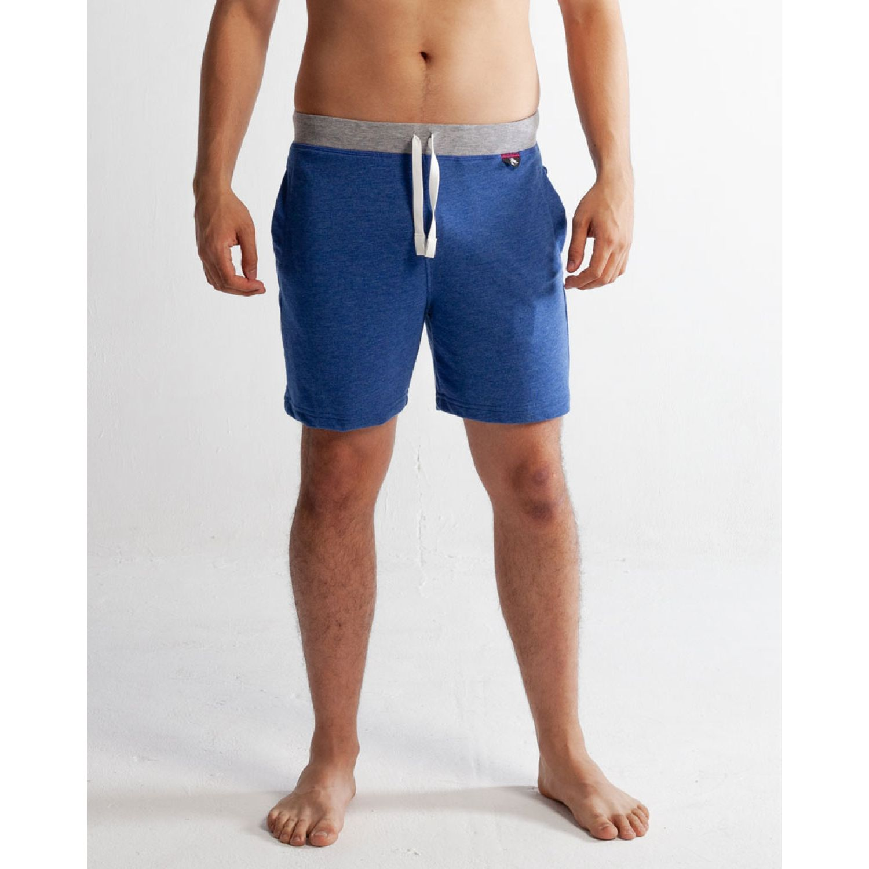Rising Dragon Short De Buzo Corto Ft Azul Pantalones de dormir