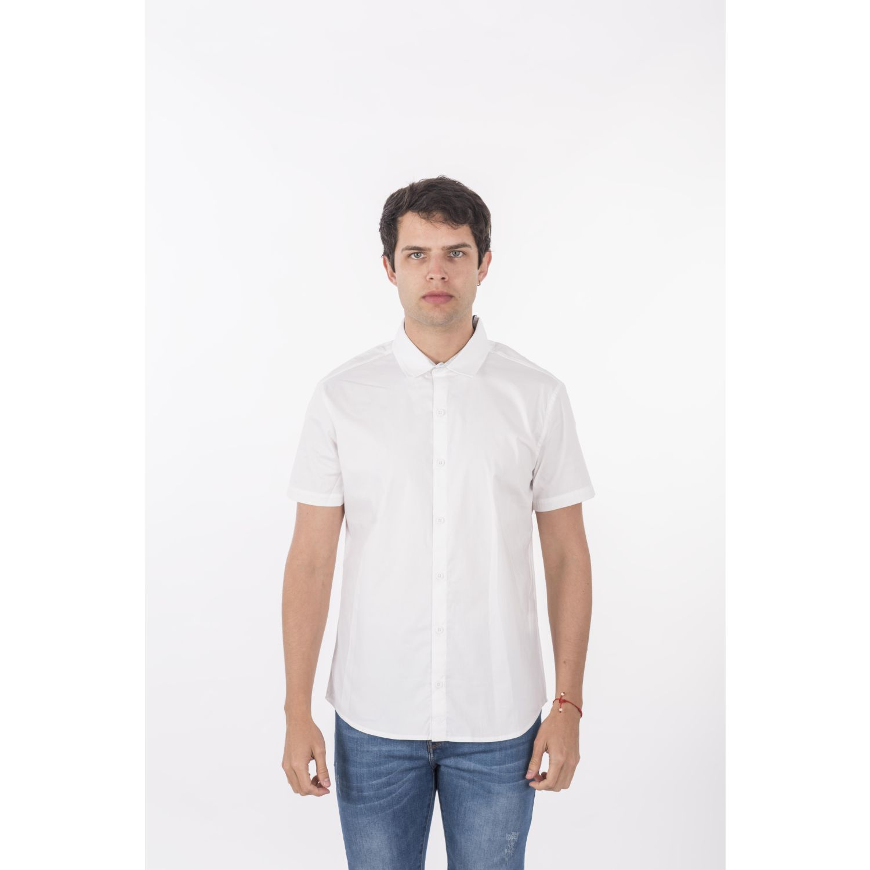 ROCK & RELIGION Larsson Blanco Camisas de botones