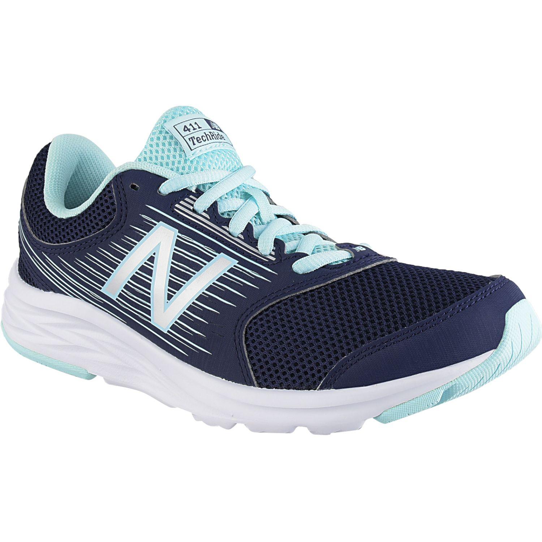 New Balance 411 NAVY / AQUA Running en pista