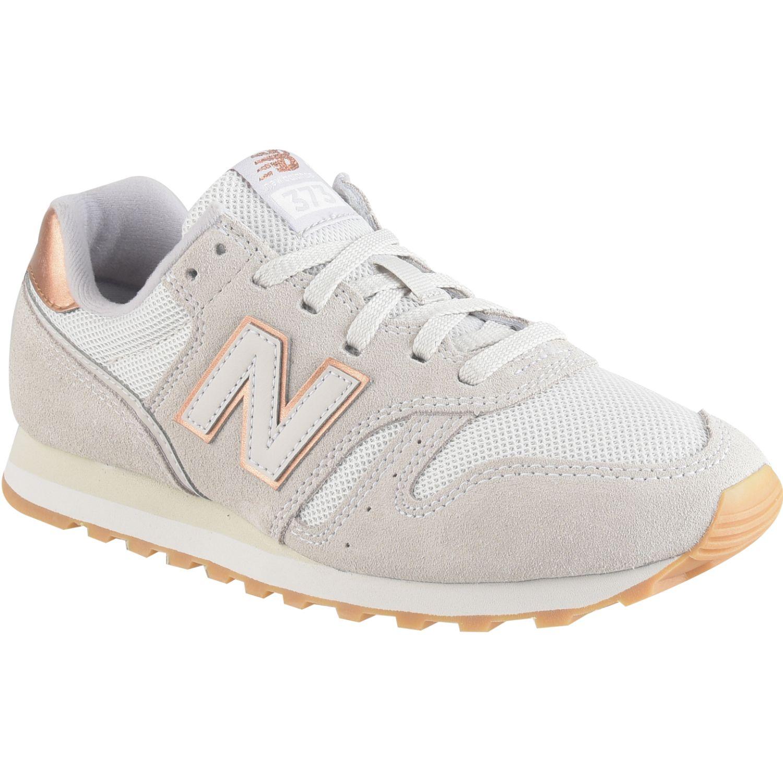 New Balance 373 Gris / dorado Walking