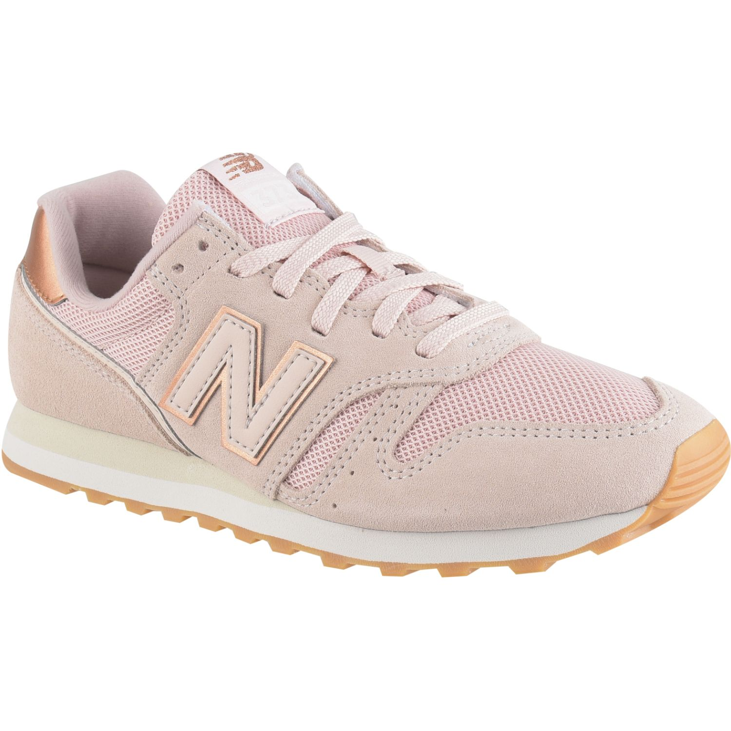 New Balance 373 ROSADO / DORADO Walking
