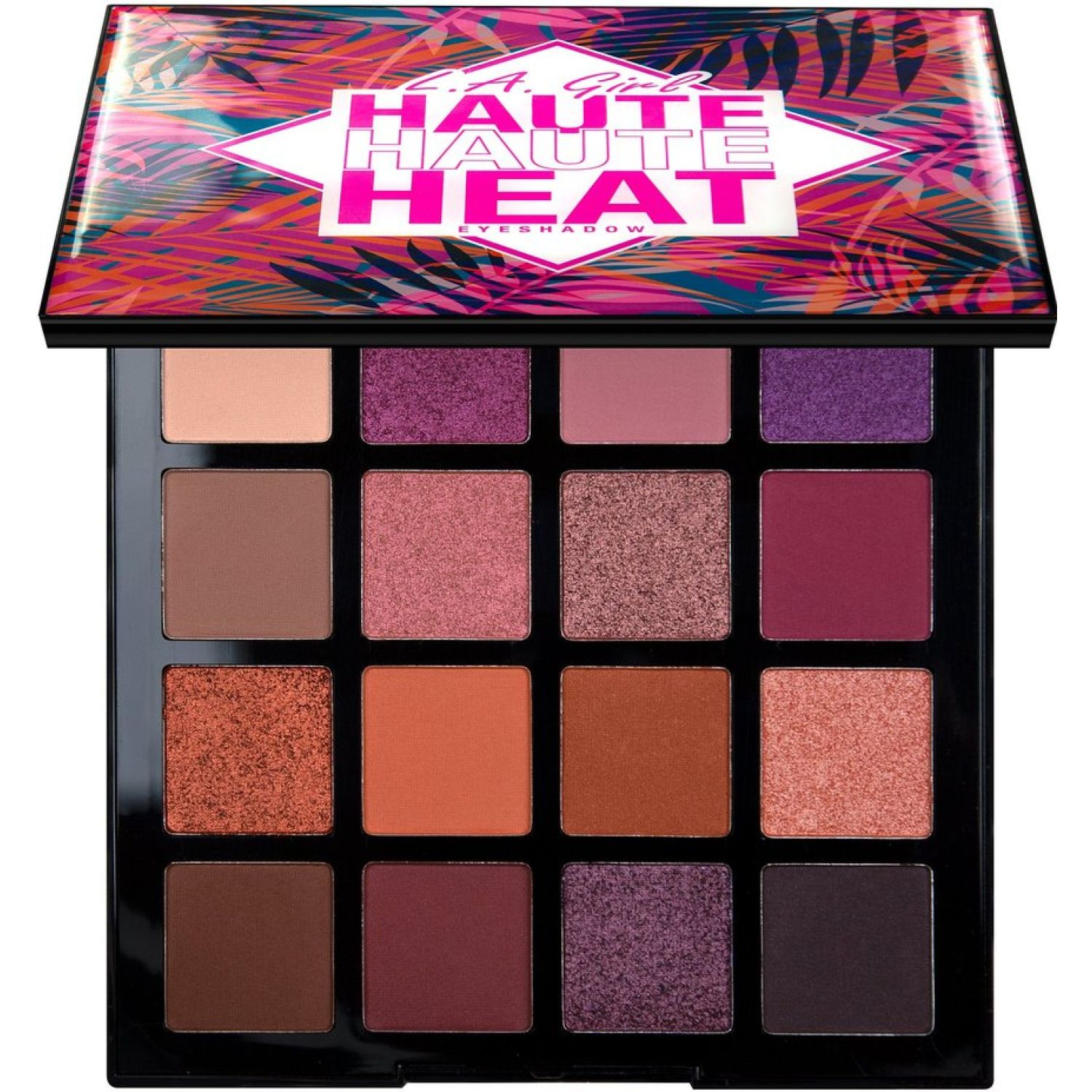 L.a. Girl haute haute heat eye shadow palette VACAY EVERYDAY Sombra